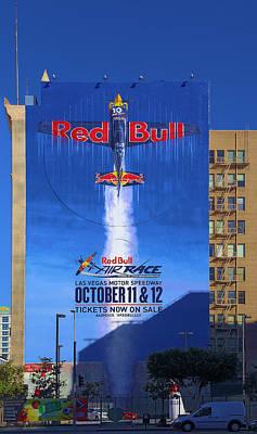 Red Bull On Olympic  Art Print by Viktor Savchenko