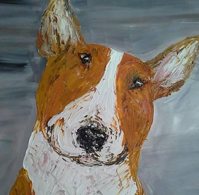 Bullie Painting - Red Bullie by Janette Ireland
