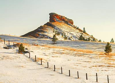 Photograph - Red Butte by Anthony Wilkening