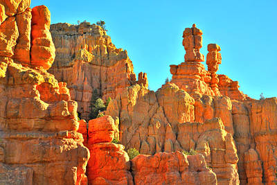 Photograph - Red Canyon Utah by Ray Mathis