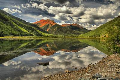 Photograph - Red Cap Reflections by Adam Jewell