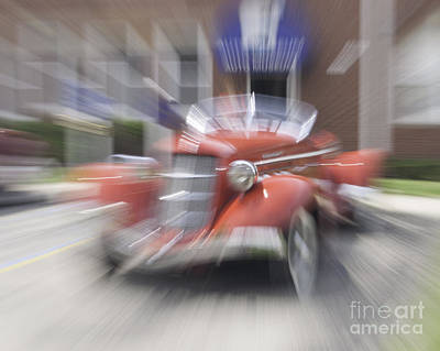 Photograph - Red Car by Ronald Grogan