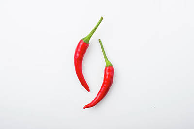 Red Chili Pepper Art Print by Jay's Photo