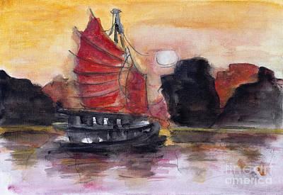 Staff Picks Judy Bernier - Red Chinese sunset by Irina Gromovaja