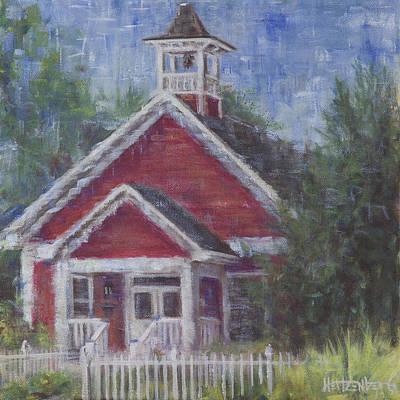 Landmarks Painting - Whitestone by Josh Hertzenberg