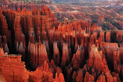 Hoodoo Photograph - Red City by ??? / Austin