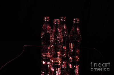 Photograph - Red Coke Bottles by Randi Grace Nilsberg