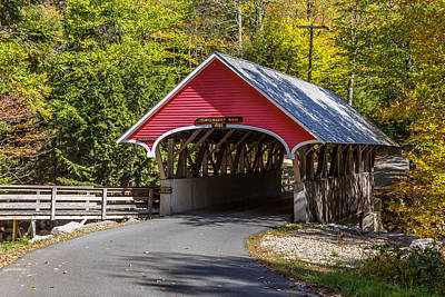 Photograph - Red Covered Bridge by Pierre Leclerc Photography