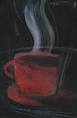 Painting - Red Cup by Tim Nyberg