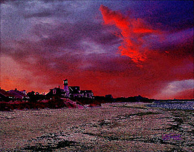 Digital Art - Red Dawn by William Sargent