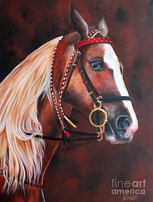 Painting - Red by Debbie Hart