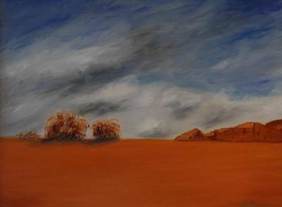 Painting - Red Desert by W William Brown Jr