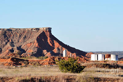 Photograph - Red Dirt And Oil And Gas by Anjanette Douglas