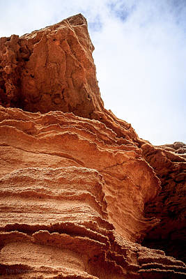 Photograph - Red Dirt Cliffs by Tim Newton