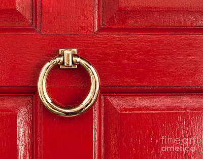Photograph - Red Door 01 by Rick Piper Photography