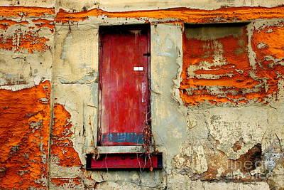 Photograph - Red Door 2 by Marcia Lee Jones
