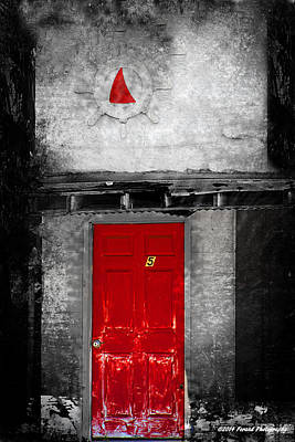 Photograph - Red Door by Debra Forand