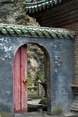 Photograph - Red Door by Jan Stittleburg