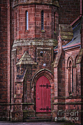 Photograph - Red Door by Kate Purdy