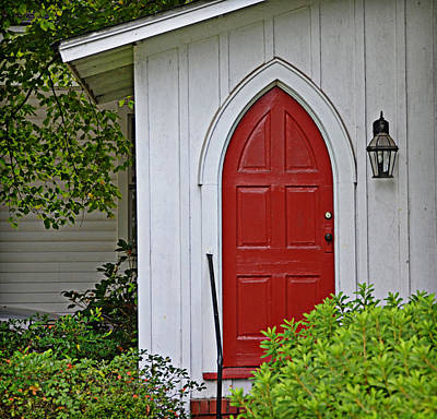 Photograph - Red Door by Linda Brown