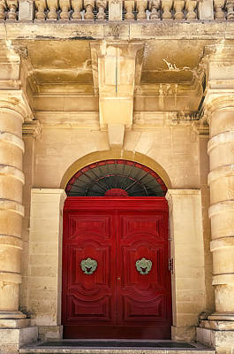 Photograph - Red Door by Maria Coulson