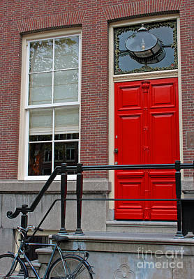 Photograph - Red Door by Mary-Lee Sanders