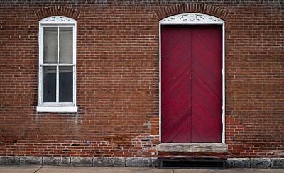 Photograph - Red Door by Wayne Meyer