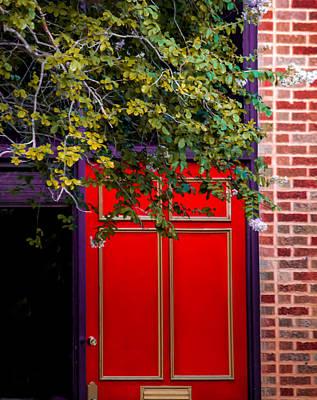 Ps I Love You - Red Door by Yadira Perez