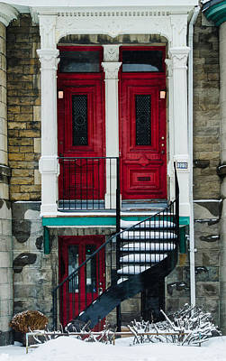 Photograph - Red Doors by Martin New