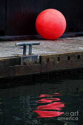 Photograph - Red Dot by Elena Nosyreva