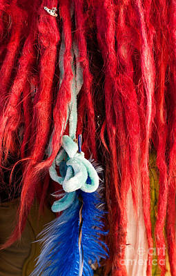 Photograph - Red Dreads by Rick Piper Photography