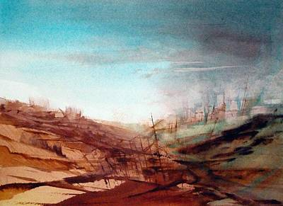 Painting - Red Earth by Christa Friedl