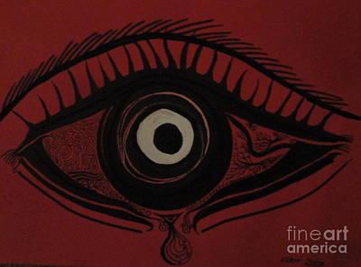 Red Eye Original by Glenn Poppler