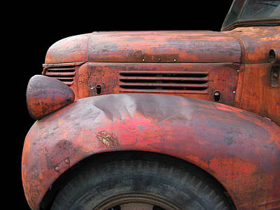 Photograph - Red Fargo by Larry Hunter