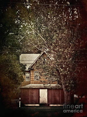 Photograph - Red Farmhouse by Colleen Kammerer
