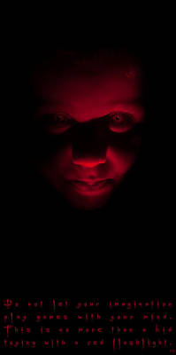 Photograph - Red Fear by Weston Westmoreland