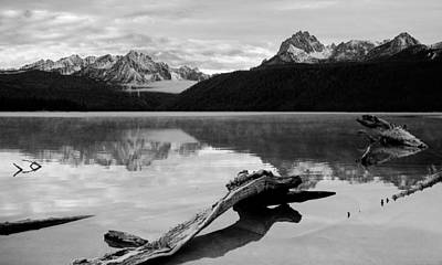 Photograph - Red Fish Lake Idaho by Robert Woodward