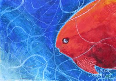 Painting - Red Fish by Samantha Geernaert