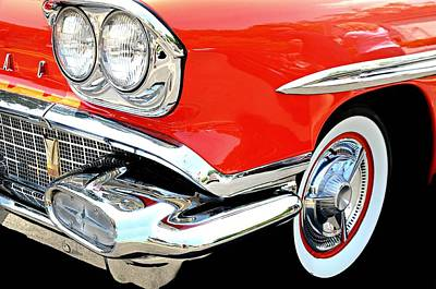 Photograph - Red Flash Pontiac by Diana Angstadt