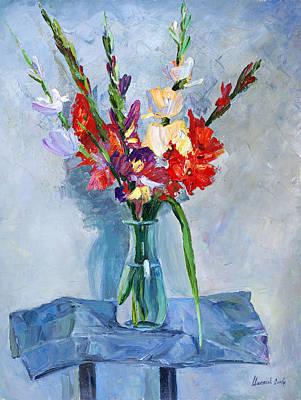 Red Flower Original by Alexander Maslik