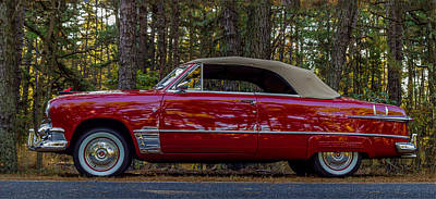 Red Ford Art Print by Capt Gerry Hare