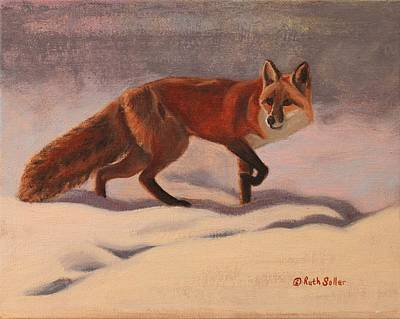 Painting - Red Fox by Ruth Soller