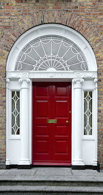 Photograph - Red Georgian Door - Dublin - Ireland by Jane McIlroy