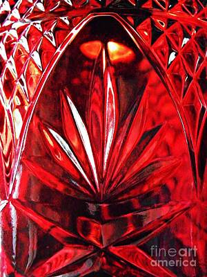 Photograph - Red Glass by Sarah Loft