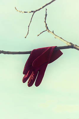 Kidnapped Photograph - Red Glove by Joana Kruse