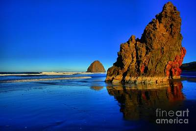Photograph - Red Gold And Blue by Adam Jewell