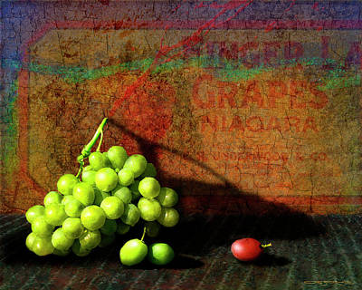 Painting - Red Grape by Patrick J Osborne