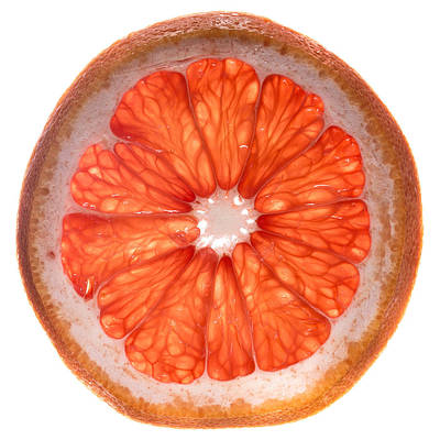 Grapefruit Photograph - Red Grapefruit by Steve Gadomski