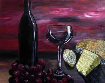 Red Grapes Original