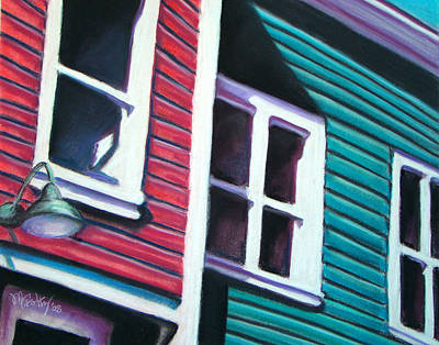 Painting - Red Green House by Michael Foltz